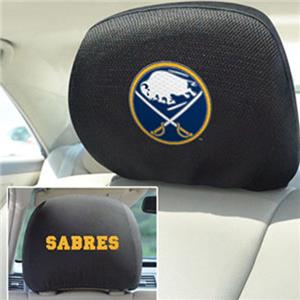 Fan Mats NHL Buffalo Sabres Head Rest Covers