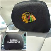 Fan Mats NHL Chicago Blackhawks Head Rest Covers