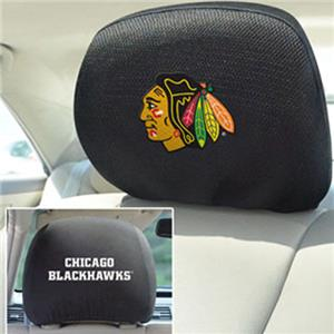 Fan Mats NHL Chicago Blackhawks Head Rest Covers