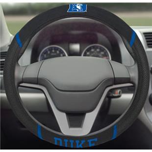 Fan Mats Duke University Steering Wheel Cover