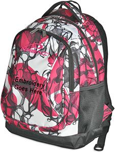 Airbac Curve Pink Small Kids Backpacks