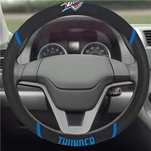 Fan Mats NBA OKC Thunder Steering Wheel Cover