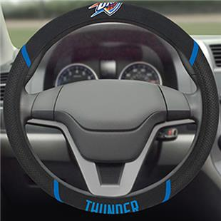 Fan Mats NBA OKC Thunder Steering Wheel Cover