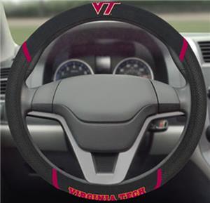 Fan Mats Virginia Tech Steering Wheel Cover