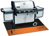 Fan Mats MLB Baltimore Orioles Grill Mat