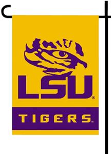 "COLLEGIATE LSU 2-Sided 13"" x 18"" Garden Flags"