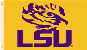 COLLEGIATE LSU Tigers 3' x 5' Flags