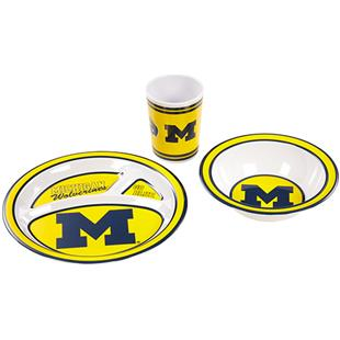 COLLEGIATE Michigan Children's Dish Set
