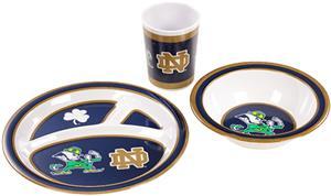 COLLEGIATE Notre Dame Children's Dish Set