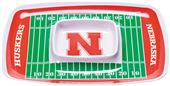 COLLEGIATE Nebraska Chips & Dip Tray (Set of 6)