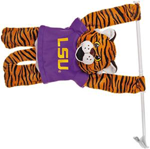 COLLEGIATE LSU Tigers 3D Mascot Car Flag