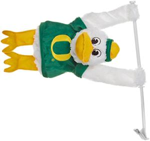 COLLEGIATE Oregon Ducks 3D Mascot Car Flag