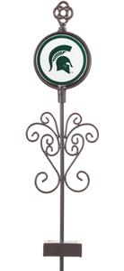 COLLEGIATE Michigan State Solar Yard Ornament