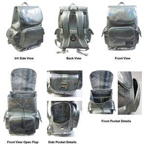 Airbac Cheer Bling Multi Rhinestone Backpack