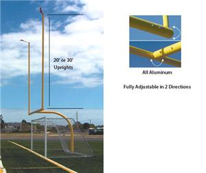 Official High School Football Goal Post 20' or 30'