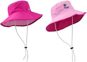 Plangea Sport Girls' Reversible Pinks Bucket Hat