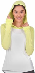 Soffe Juniors Girls No Sweat Color Block Hood