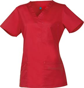 Maevn Blossom Women's 3-Pocket V-Neck Scrub Tops