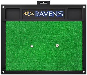 Fan Mats NFL Baltimore Ravens Golf Hitting Mat
