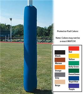 Round Protector Pads Football Posts 6-5/8&quot;