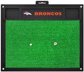 Fan Mats NFL Denver Broncos Golf Hitting Mat