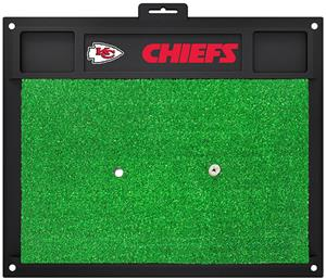 Fan Mats NFL Kansas City Chiefs Golf Hitting Mat