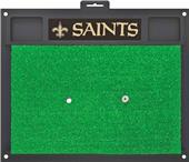 Fan Mats NFL New Orleans Saints Golf Hitting Mat