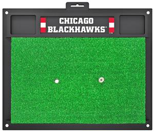 Fan Mats NHL Chicago Blackhawks Golf Hitting Mat