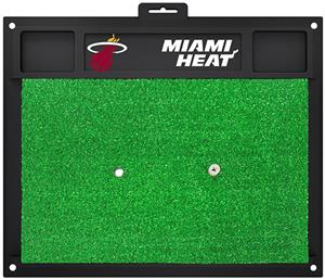 Fan Mats NBA Miami Heat Golf Hitting Mat