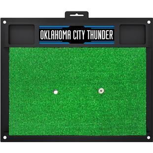 Fan Mats NBA OKC Thunder Golf Hitting Mat