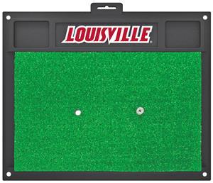 Fan Mats University of Louisville Golf Hitting Mat
