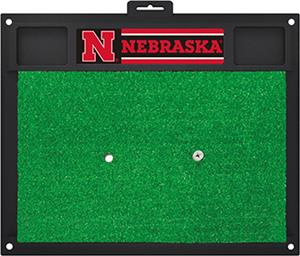 Fan Mats University of Nebraska Golf Hitting Mat