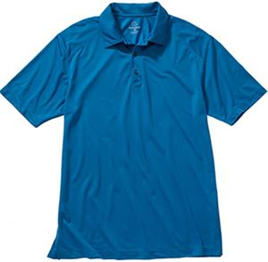 Edwards Men's Micro Pique Polo with Self Collar