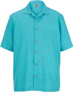 Edwards Unisex Jacquard Batiste Camp Shirt