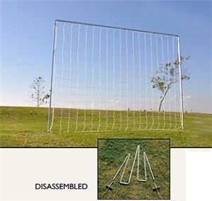 Fold A Goal Kickback Soccer Goal Backyard Practice