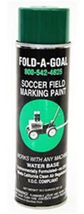 Fold-A-Goal Aerosol Marking Field Green Paint