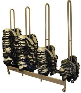 Shoulder Pad Stackmaster Football Cart