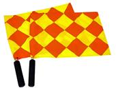 Fold-A-Goal Diamond Design Rotating Soccer Flags