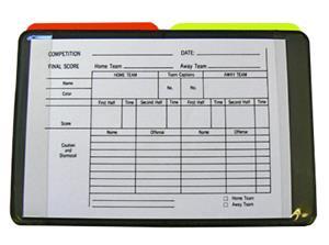 Fold-A-Goal Soccer Referee Data Wallet