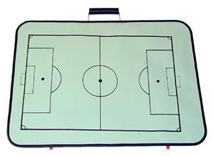 Fold-A-Goal Dry Erase & Magnetic Coaches Board