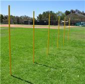 Fold-A-Goal Soccer Agility Poles