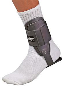 Mueller Lite Padded Semi-Rigid Shell Ankle Brace