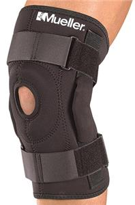 Mueller Fitted Sleeve Hinged Knee Brace