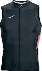 Joma Duathlon Sleeveless Zip Up Shirt