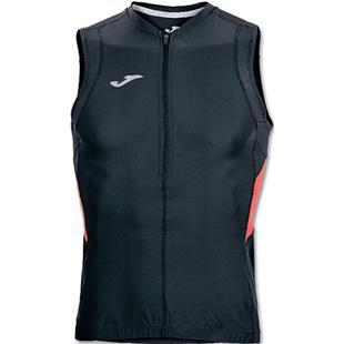 Joma Duathlon Sleeveless Zip Up Shirt
