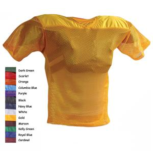 Adams Adult FJ-2 Porthole Mesh Football Jerseys CO