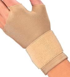 Mueller Fingerless Compression Gloves