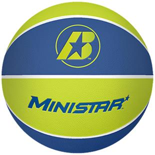 Baden Rubber Ministar Training Basketballs Size 3
