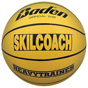 Baden SKILCOACH Heavy Trainer Yellow Basketballs