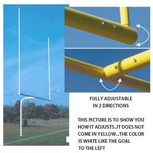Official H.S. Football White Goal Post 5' or 6'